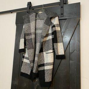 Plaid Fall Jacket Sweater Cardigan ✨ HOST PICK ✨
